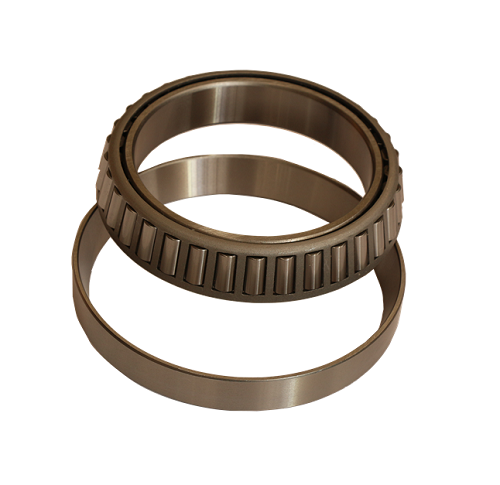 Metric taper roller bearing with flanged outer ring